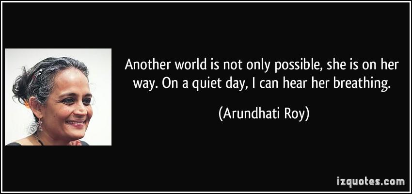 Arundhati Roy's quote #4