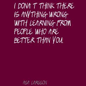 Asa Larsson's quote