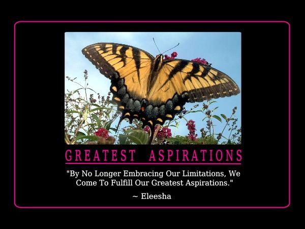 Aspirations quote #1