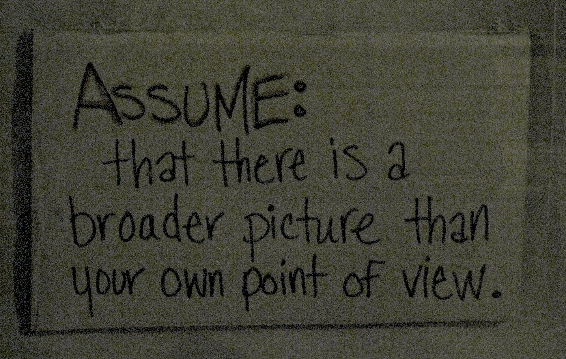 Assume quote #2