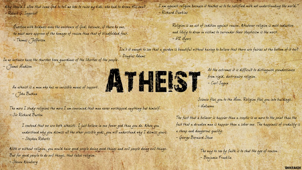 Atheist quote #4