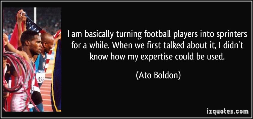 Ato Boldon's quote #7