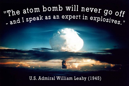 Atomic Bombs quote #2