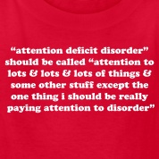 Attention Deficit quote #1