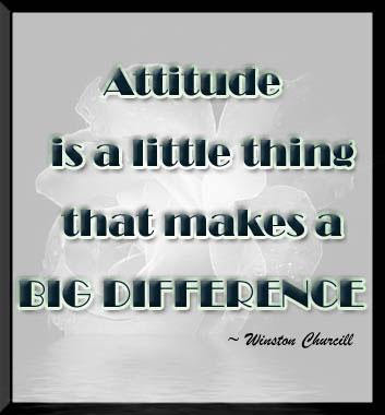 Attitudes quote #3