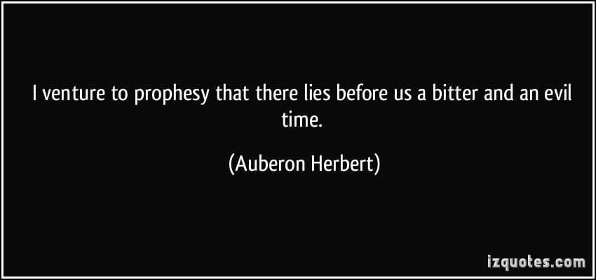Auberon Herbert's quote #5