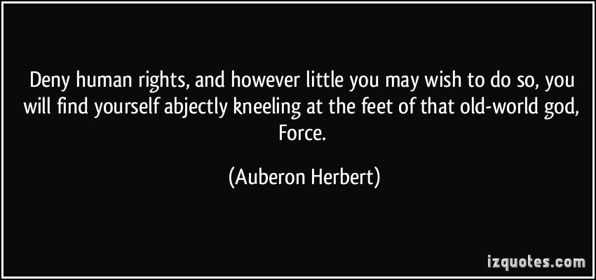 Auberon Herbert's quote #6