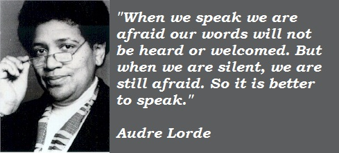 Audre Lorde's quote #7