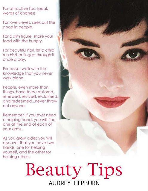 Audrey Hepburn quote #1