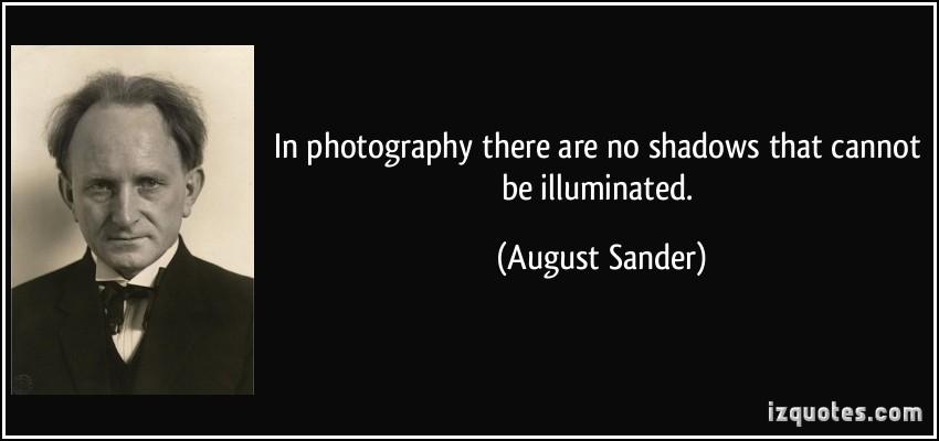 August Sander's quote #1