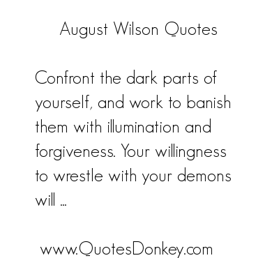 August Wilson's quote #2