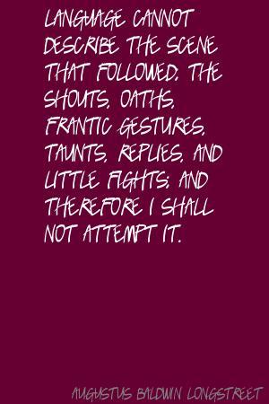 Augustus Baldwin Longstreet's quote #1