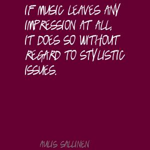 Aulis Sallinen's quote #7