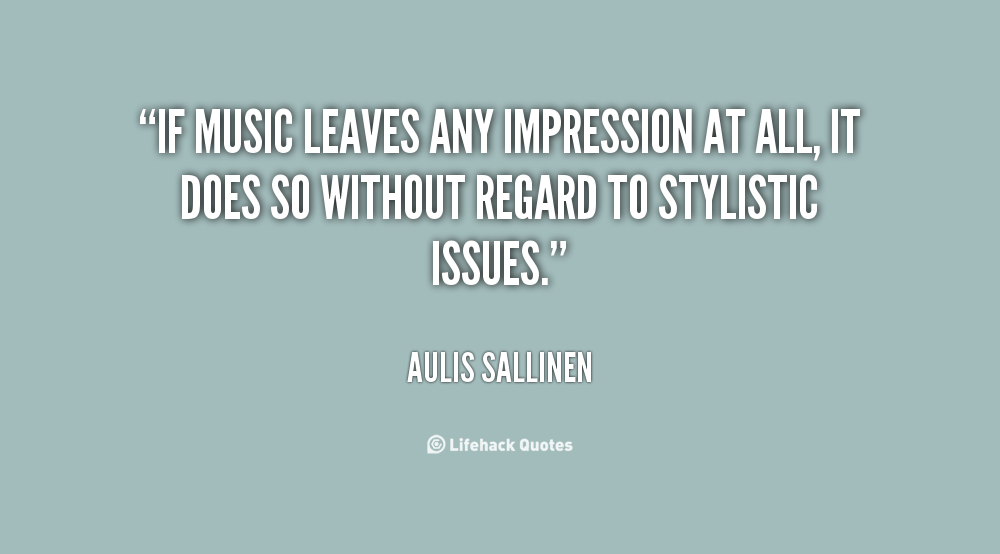 Aulis Sallinen's quote #6