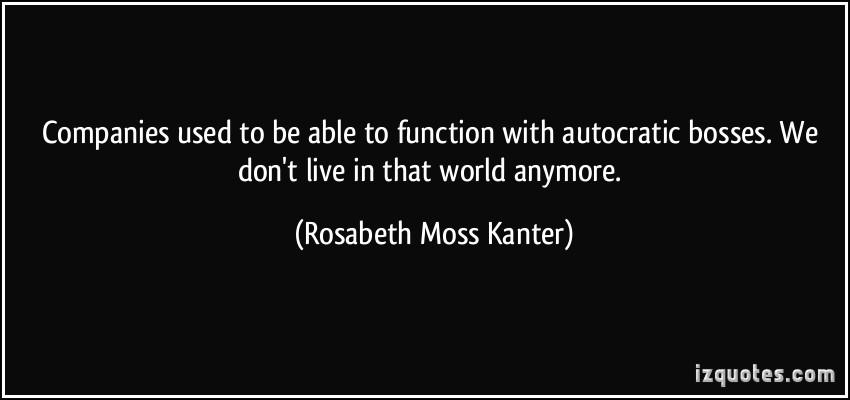 Autocratic quote