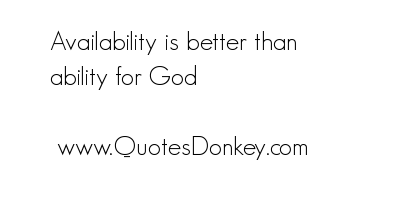 Availability quote #2