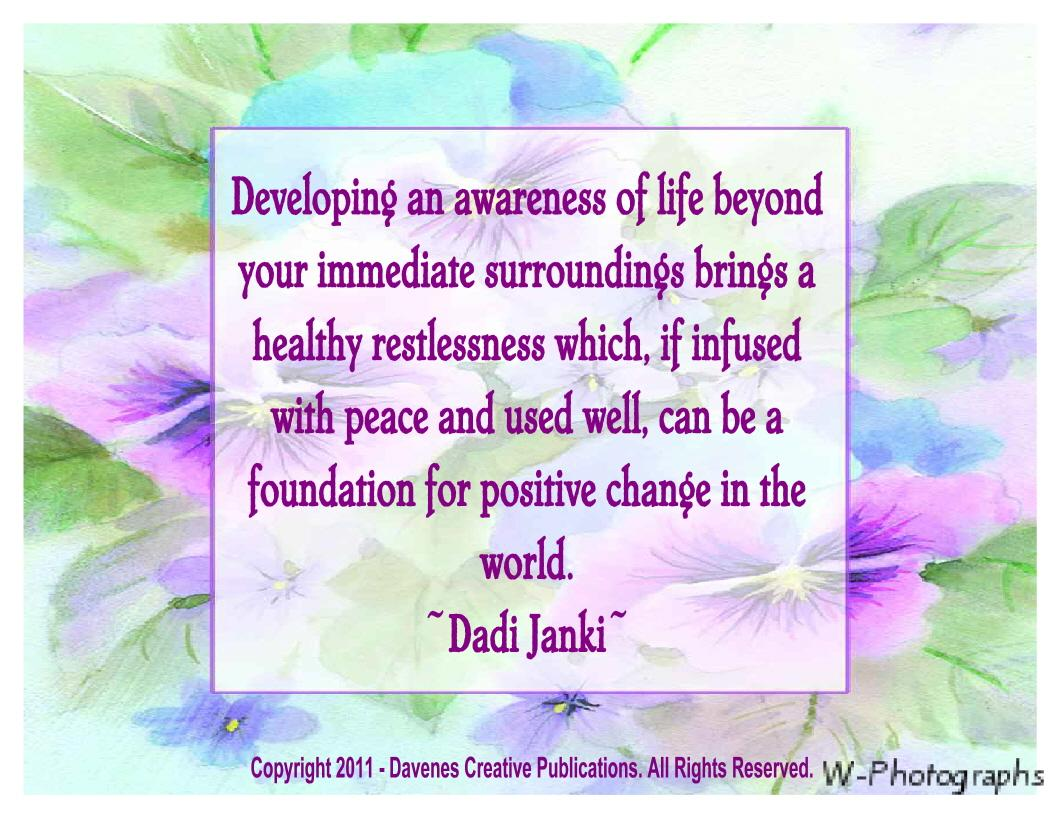 Awareness quote #4