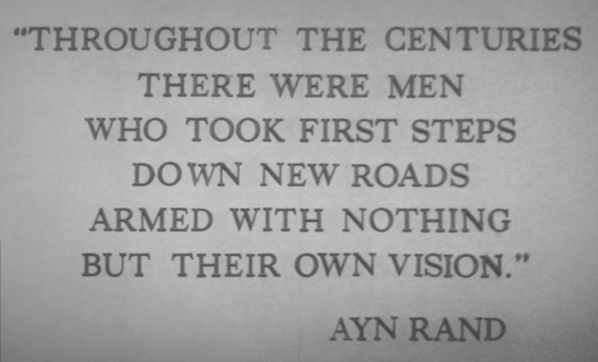 Ayn Rand quote #1