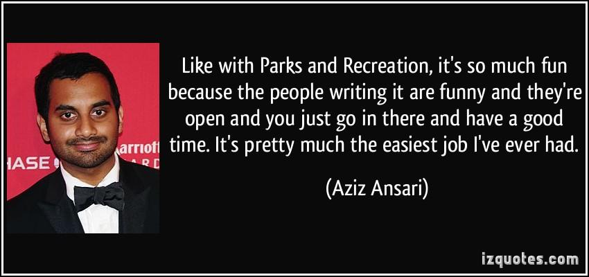 Aziz Ansari's quote #4