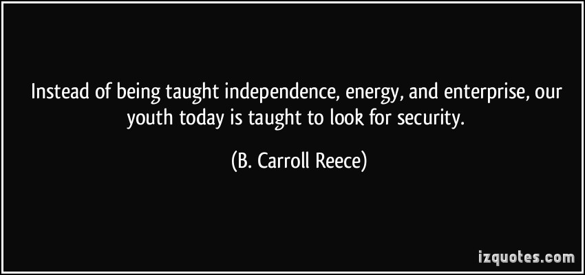 B. Carroll Reece's quote #1