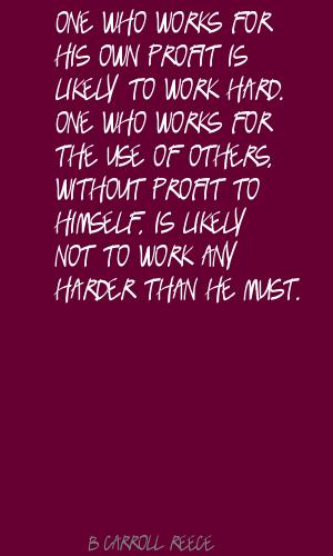 B. Carroll Reece's quote #4