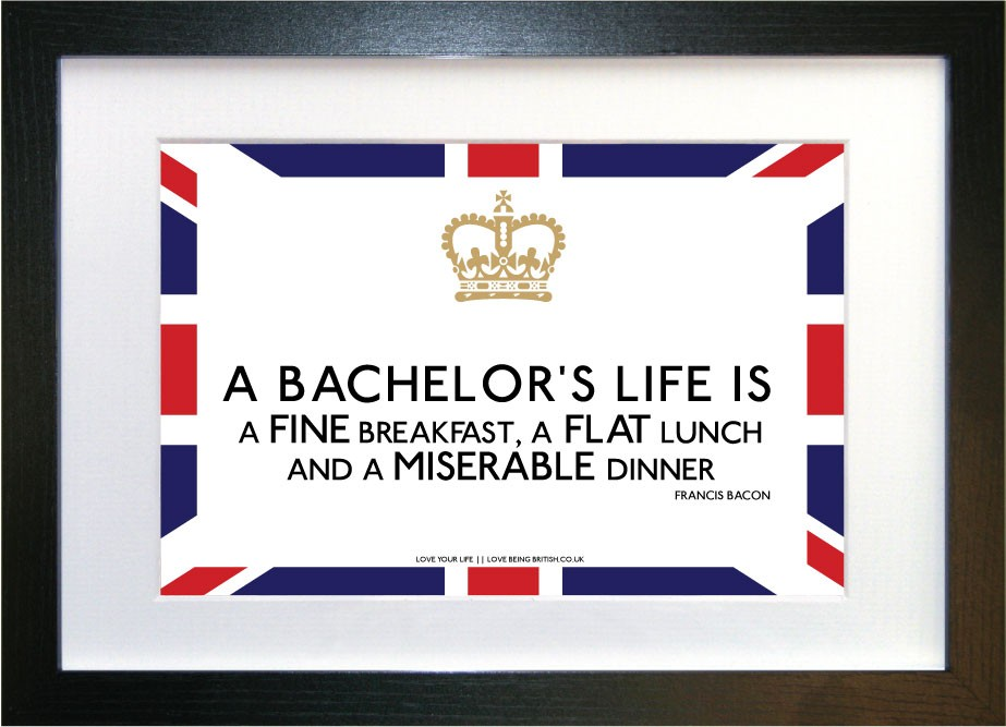 Bachelor quote #2