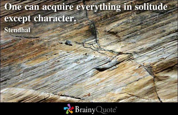 Bad Character quote #1