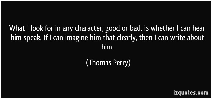 Bad Character quote #2