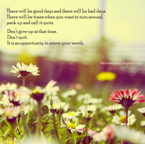 Bad Times quote