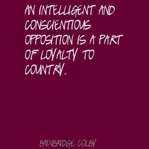 Bainbridge Colby's quote #6