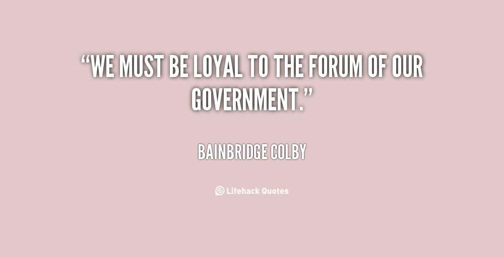 Bainbridge Colby's quote #4