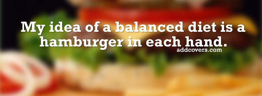 Balanced Diet quote #2