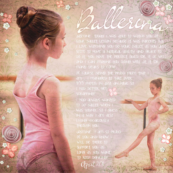 Ballerina quote #1