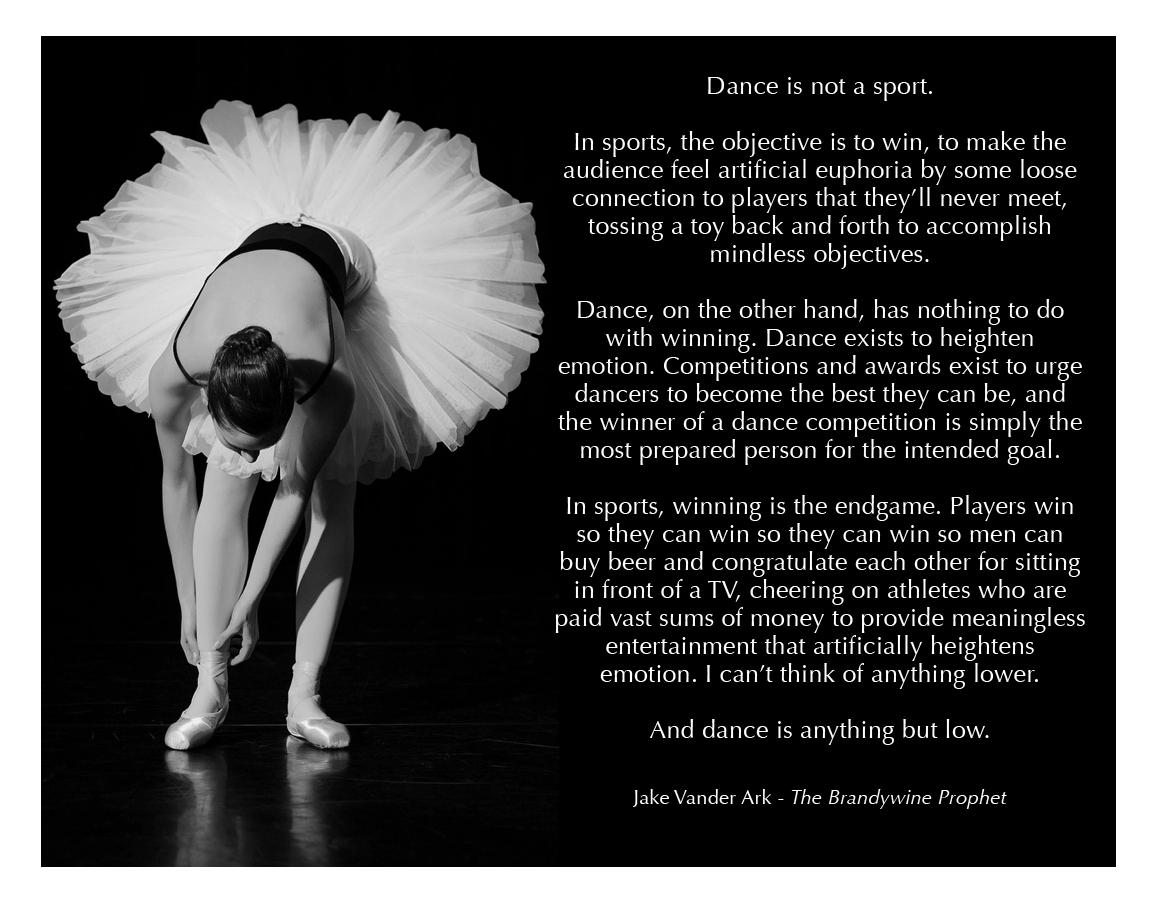 Ballet quote #1