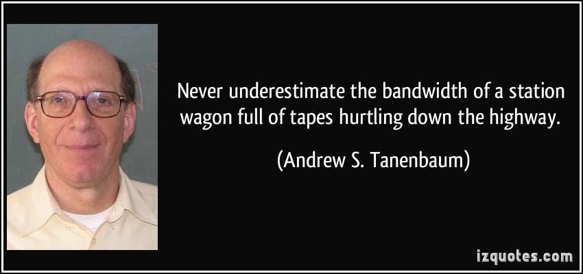Bandwidth quote #1