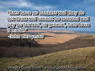 Bankers quote #1