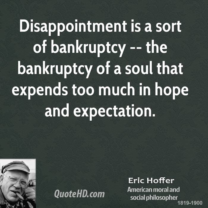 Bankruptcy quote #1