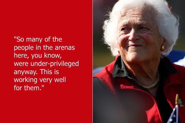 Barbara Bush's quote #1