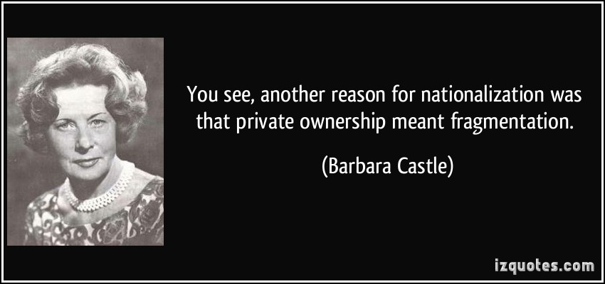 Barbara Castle's quote #1