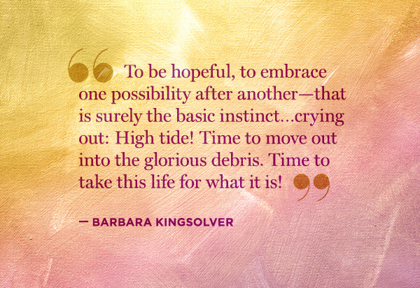 Barbara Kingsolver's quote #6