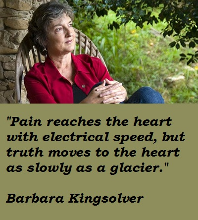 Barbara Kingsolver's quote #5