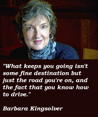 Barbara Kingsolver's quote #7