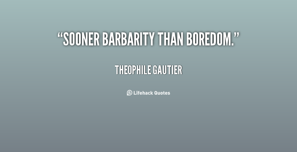 Barbarity quote #1