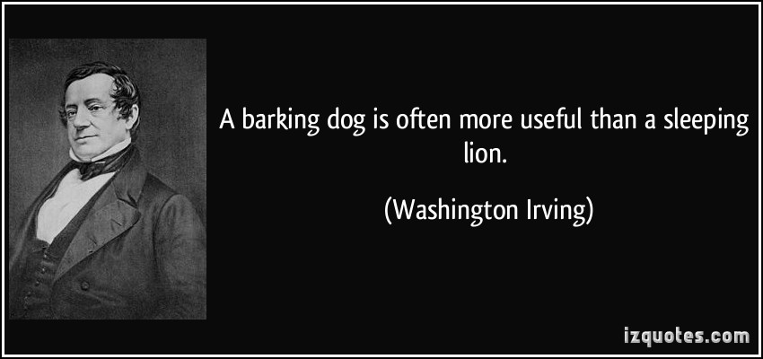 Barking quote #1