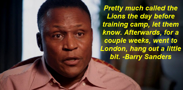 Barry Sanders's quote #2