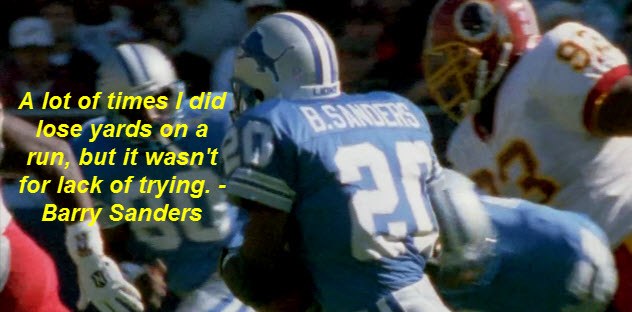 Barry Sanders's quote #7
