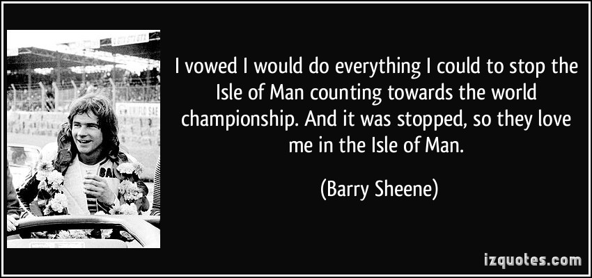Barry Sheene's quote #2
