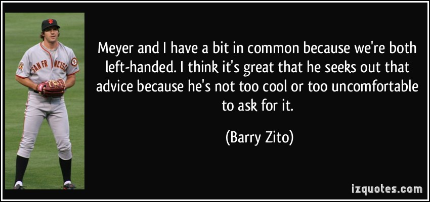 Barry Zito's quote #4