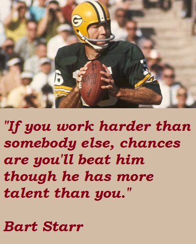 Bart Starr's quote #1
