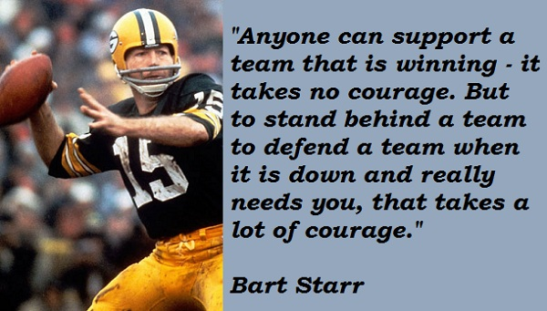 Bart Starr's quote #2